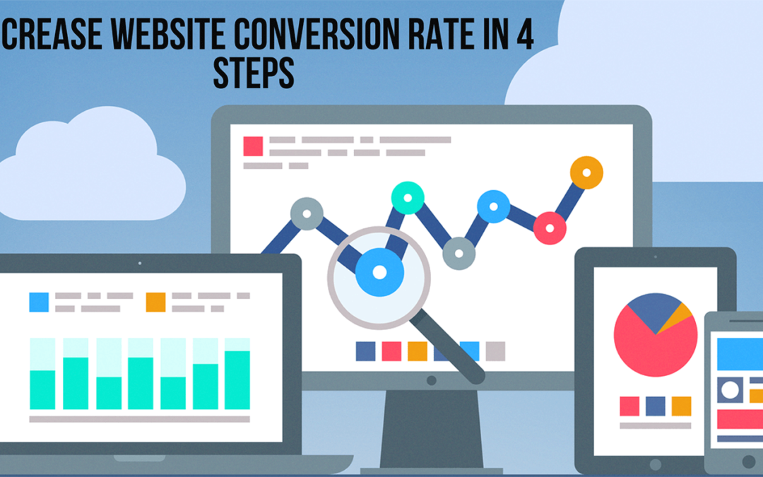 Increase Website Conversion Rate in 4 steps