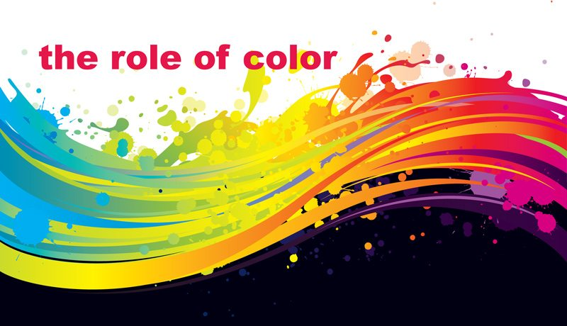 the role of color and font style in website converstion.