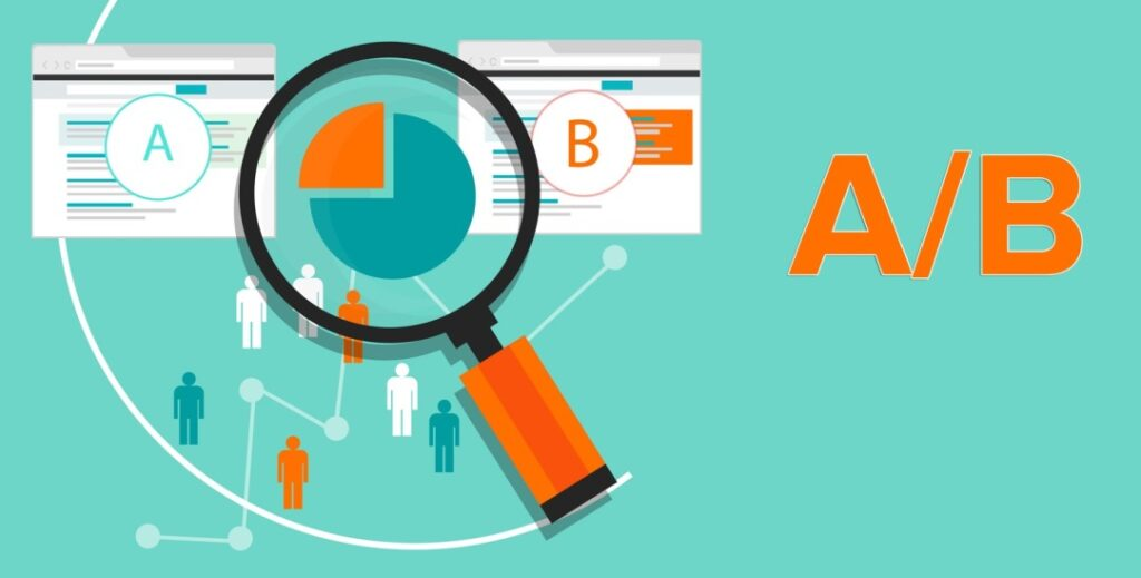 A/B testing plays a vital role in website design conversion.